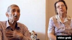Геворг Паясян жубайы Елена менен Еревандан убактылуу башпаанек тапты.