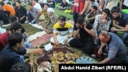 من أجواء رمضان في متنزّه شار في أربيل