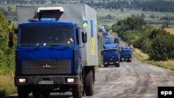 Український гуманітарний конвой (архівне фото)
