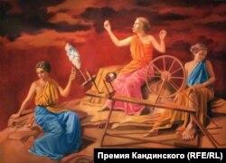 "Фрагмент инсталляции ""Тело труда"""