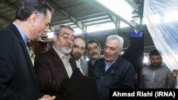 بازدید وزیر کشور دولت روحانی از کارخانه حجاب در تابستان ۹۸