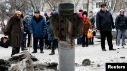 Краматорськ після обстрілу, 10 лютого