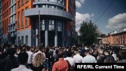 Մոսկվայի Մեշյանսկի դատարանում ընթանում է Կիրիլ Սերեբրիննիկովի գործով դատավարությունը, 26-հունիսի, 2020թ.