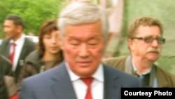Премьер-министрдің бірінші орынбасары Бердібек Сапарбаев.