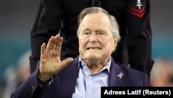 Бывший президент США Джордж Буш-старший.