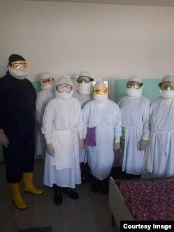 Медики Джалал-Абадской клинической больницы.