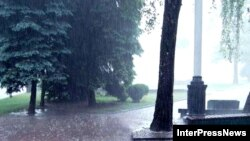 კოკისპირული წვიმა კახეთში