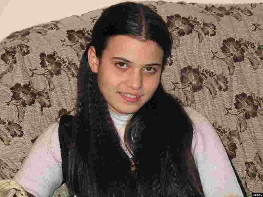 "Inga Ghukasyan lives in the Armenian capital Yerevan, with her engineer father, Edik, and her mother, Marina, a mathematician. Fifteen years old, she was born in December 1991. Now, she says, ""living is like struggling, you have to work hard to succeed."" She thinks her country needs more time before it will be recognized as a developed country."