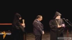 «Սուրբ Էջմիածնի Ասպետ» շքանշան Էդուարդո Էռնեկյանին