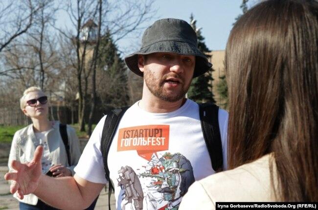 Максим Демський, директор фестивалю сучасного мистецтва «Гогольфест»