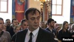 Sasho Mijalkov në një fotografi të vitit 2015