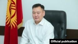 Председатель Госкомитета промышленности, энергетики и недропользования КР Дуйшенбек Зилалиев.