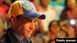 Henrique Capriles hopes to do better against Chavez's chosen successor than against Chavez himself.