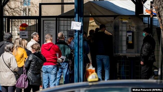 Prevencija korona virusa u Sarajevu