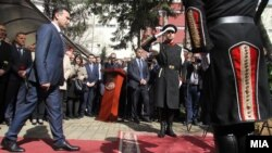 Kryeministri i Maqedonisë, Zoran Zaev. 12 mars, 2018
