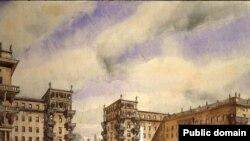 Вот так выглядел Ленинград в 20-30-е годы прошлого века.