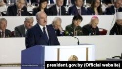 Александр Лукашенко на народном собрании 11 февраля 2021 года