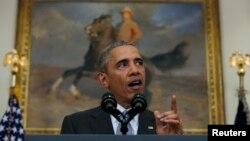 باراک اوباما در مقاله خود نوشته است: ایران دارای سلاح هستهای یک خطر غیرقابل پذیرش برای امنیت ملی آمریکا و کشورهای متحد ما بود.