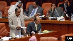 "Депутат от партии ""Аль-Вефак"" Абдул Хуссейн аль-Мутагави в парламенте Бахрейна"