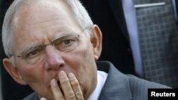 Германияның қаржы министрі Вольфганг Шойбле.