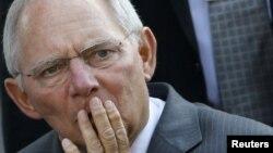 германскиот министер за финансии Вофганг Шојбле