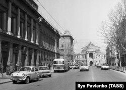 Одеса 1970-х. Фото: ТАРС