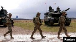 Ілюстраційне фото. Військові навчання у Польщі. Квітень 2016 року