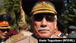 Генерал Махмут Телегусов, бывший заместитель командующего военным округом.