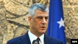 Вицепремиерот и министер за надворешни работи на Косово Хашим Тачи