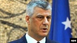 Ministri i Jashtëm i Kosovës, Hashim Thaçi.