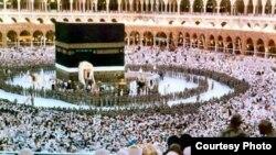 Мекка в Саудовской Аравии.