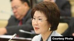 Депутат сената парламента Казахстана Светлана Жалмагамбетова.