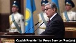 Президент Казаххстана Касым-Жомарт Токаев.