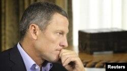 Ciclistul Lance Armstrong în 2013
