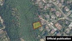 Имотот на Водно кој доби дозвола за градба е запишан во катастар како сосптвеност на фирмата Маркиза