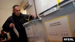 Vendvotim në Graçanicë, 15 nëntor 2009.