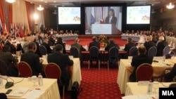 Министерката за внатрешни работи на РМ, Гордана Јанкуловска на министерска конференција за граничната безбедност во ЈИЕ.
