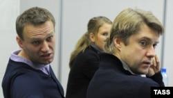 Алексей Навальный и Владимир Ашурков (архивное фото)