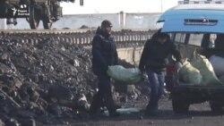 Очереди за углем в Петропавловске