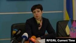 Инна Иллючок, пресс-секретарь управления СБУ в Ровенской области