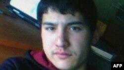 Акбаржон Джалилов, предполагаемый исполнитель атаки в метро Санкт-Петербурга.