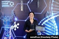 Ольга Шульга отримала нагороду в конкурсі молодих науковців