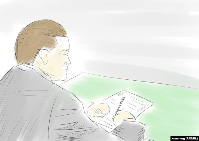 Янукович пишет отказ от охраны, иллюстрация
