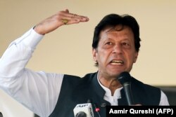 Pakistani Prime Minister Imran Khan (file photo)