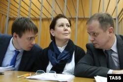 Наталья Шарина и адвокаты
