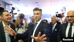 Andrej Plenković, predsjednik HDZ u nedjelju 11. septembra