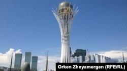 Астана қаласындағы Бәйтерек ескерткіші. (Көрнекі сурет)