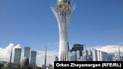 Астана (Көрнекі сурет).