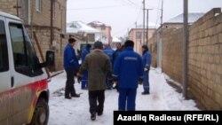 Azəriqaz işçiləri, arxiv fotosu