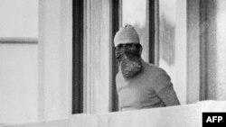 Jedan od napadača na izraelske sportiste na Olimpijadi u Minhenu, 5. septembar 1972.